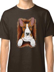 Tricolour English Bull Terrier  Classic T-Shirt