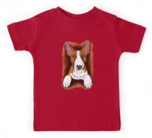 Tricolour English Bull Terrier  Kids Tee