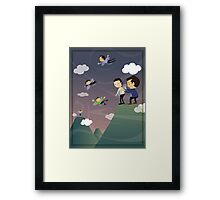 Great managers allow you to prosper Framed Print
