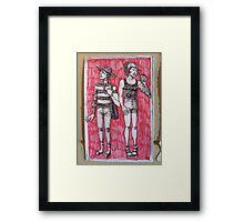 Louis + Harry Framed Print