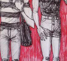 Louis + Harry Sticker