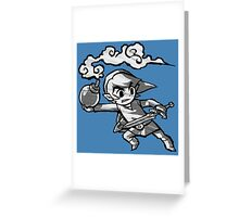 Bomber Link  Greeting Card
