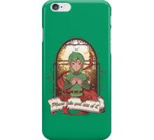 Please take good care of it iPhone Case/Skin
