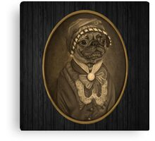 Nobility Dogs 01 Canvas Print