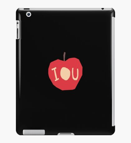 BBC Sherlock - IOU symbol iPad Case/Skin
