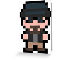 Pixel Heisenberg  Greeting Card