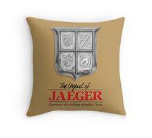 Legend of jaeger  Throw Pillow