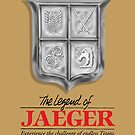 Legend of jaeger  by coinbox tees