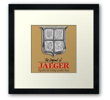 Legend of jaeger  Framed Print
