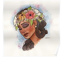 Flower Crown Poster