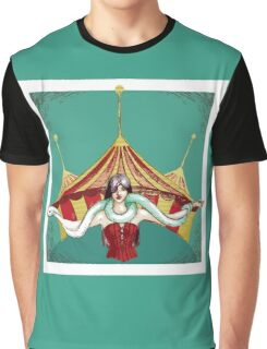 Tamer with snake Graphic T-Shirt