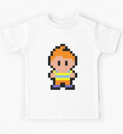 Pixel Claus Kids Tee