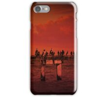 """""""Red sky at night....."""" iPhone Case/Skin"""