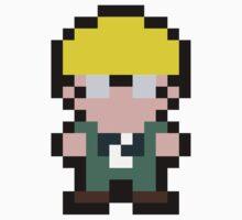 Pixel Jeff Kids Tee
