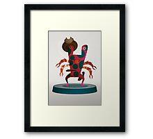 Larry Monster Framed Print