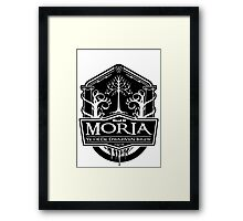 Mead Of Moria, Ye Olde Dwarven Brew Framed Print