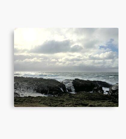 Stormy sea - Isle of Man Canvas Print