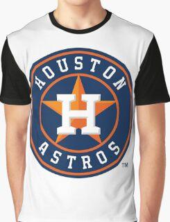 Houston Astros logo team Graphic T-Shirt