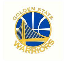 Golden State Warriors logo  Art Print