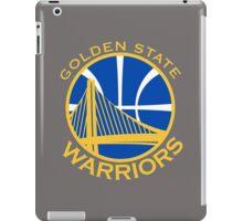 Golden State Warriors logo  iPad Case/Skin