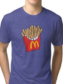 Mcdonalds Cigarettes Tri-blend T-Shirt