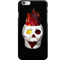 "Autumn Leaves ""Fire"" Skull iPhone Case/Skin"