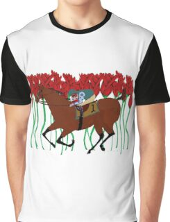 Run for the Roses Graphic T-Shirt