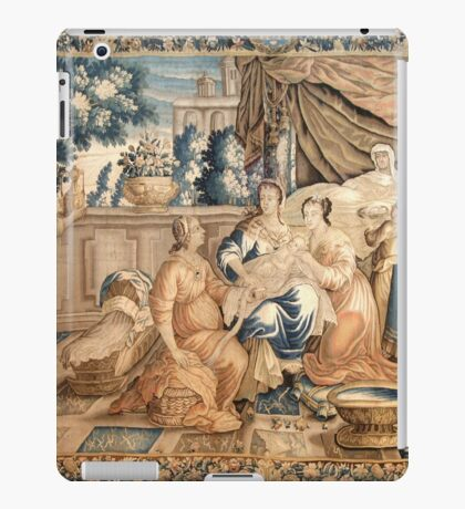 Birth of the Virgin Mary Aubusson Tappeti Tapestry tapestry 18th century Marie Born iPad Case/Skin