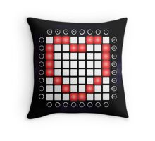 EDM LAUNCHPAD HEART Throw Pillow
