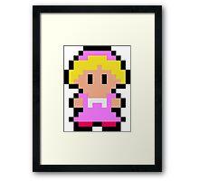 Pixel Ana Framed Print