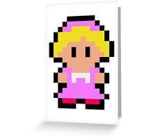 Pixel Ana Greeting Card