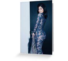 Kylie Jenner Spiral Greeting Card