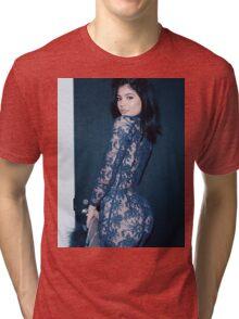 Kylie Jenner Spiral Tri-blend T-Shirt