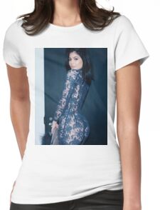 Kylie Jenner Spiral Womens Fitted T-Shirt