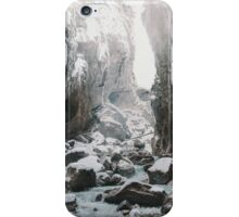 Cold and beautiful landscape iPhone Case/Skin