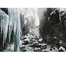 Cold and beautiful landscape landscape photography Photographic Print