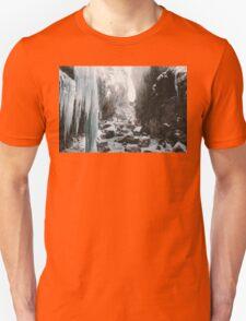 Cold and beautiful landscape landscape photography Unisex T-Shirt