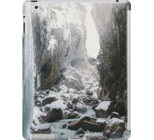 Cold and beautiful landscape landscape photography iPad Case/Skin