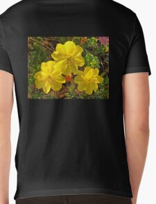 Beach Evening Primrose Mens V-Neck T-Shirt