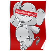 Young Republicans: Dancing Elephant Poster