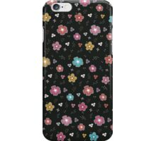 Colorful Floral Pattern iPhone Case/Skin