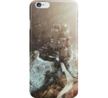 Eltz Castle at sunset iPhone Case/Skin