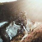 Eltz Castle at sunset by regnumsaturni