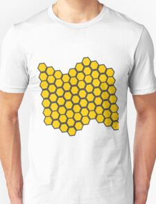 Honeycomb Pattern T-Shirt