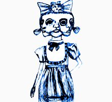don't stare too long - blue ink drawing by minxi Unisex T-Shirt