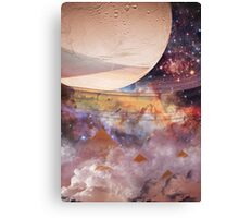 Jupiter meets Saturn Canvas Print