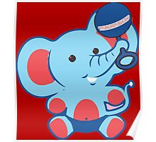 Young Republicans: Baby Elephant Poster