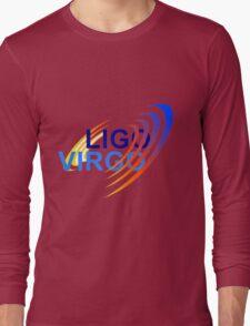 Virgo Instrument - LIGO Collaboration Logo Long Sleeve T-Shirt