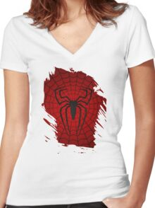 the underspider Women's Fitted V-Neck T-Shirt