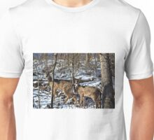 Pennsylvania Deer in Winter Unisex T-Shirt
